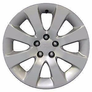 "(SET OF 4) 16"" STEEL RIMS AND HUBCAPS FOR 2009 SUBARU"