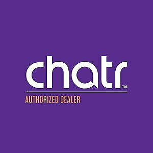 CHATR MOBILE AUTHORIZED DEALER NEW USED PHONE 289-296-0859
