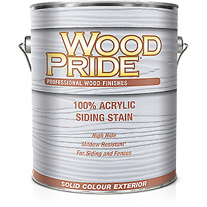 NEW Exterior Siding Stain
