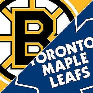 Bruins Vs Maple Leafs An Older Bruins Fans Perspective