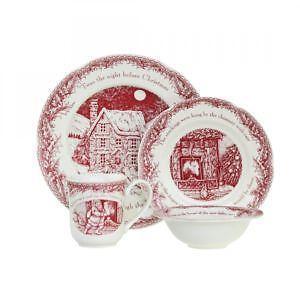 twas the night before christmas dinnerware - Cheap Christmas Dinnerware Sets
