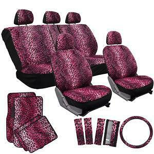 Leopard Seat Covers Ebay