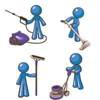Looking for cleaners ? Hire the BEST team for ONE flat rate !