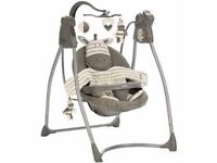 Graco Ziggy Zebra Swing Chair