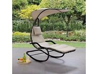 Dunelm Grey Helicopter Chair