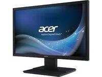 Brand new - Acer Gaming Monitor 21.5 Inch screen - Full HD 1920 x 1080 DVI & VGA