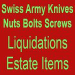 Swiss Knives Bolts Liquidations