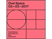 OVAL SPACE MUSIC PRESENTS SONJA MOONEAR, ION LUDWIG LIVE, BINH, SPACETRAVEL