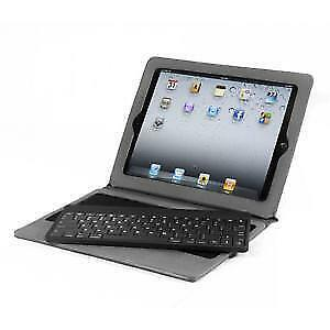 82-Key Detachable Bluetooth Keyboard Ultra Light Portfolio Case