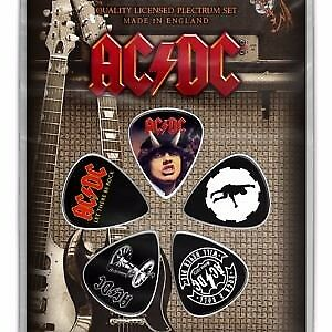 ACDC Plectrums (Pack Of 5)