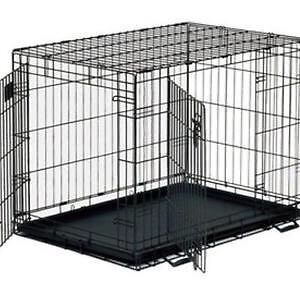 Top Paw X-Large Double Door Folding Crate