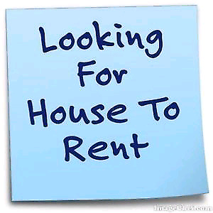 Looking for 3 or 4 bedroom house
