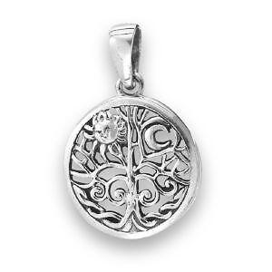 Silver tree of life pendant ebay for What is the meaning of the tree of life jewelry
