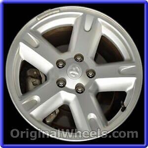 2007 dodge nitro alloy wheels (4) and winter tires