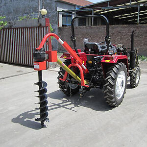 """New Post Hole Digger with 6"""" 9"""" 12"""" Augors Hatton Vale Lockyer Valley Preview"""