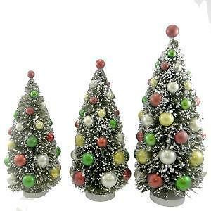 bethany lowe bottle brush tree - Bottle Brush Christmas Tree