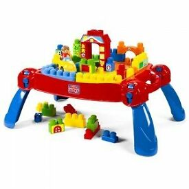 Mega Bloks First Builders Build-n-Learn Table