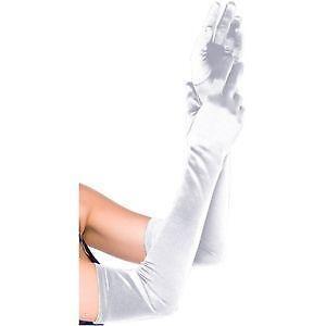 Long White Gloves | eBay
