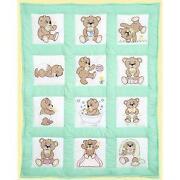 Stamped Quilt Blocks