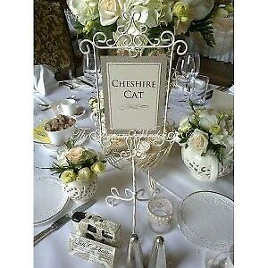 Wedding decorations table number stands Vintage style | in Wigan ...