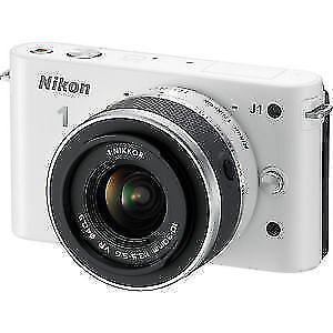 Nikon1 J1 Mirrorless Digital Camera with 10-30mm VR Zoom Lens