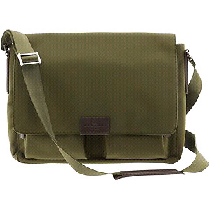 For Sale: BNWT Banana Republic Mens Karter Nylon Messenger Bag