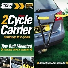 2 Bike Cycle Rack Universal Fit (Tow Ball Clamp Fit) - £29.99