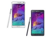SAMSUNG GALAXY NOTE 4' 32GB (UNLOCKED, ALL COLOURS, EXCELENT CONDITION)