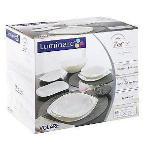 luminarc dinner set ebay. Black Bedroom Furniture Sets. Home Design Ideas