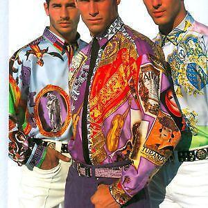 Vintage Gianni Versace Silk Shirts Ebay