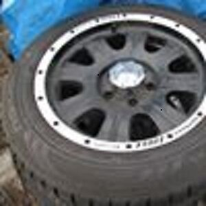 4 17 inch tires on rims