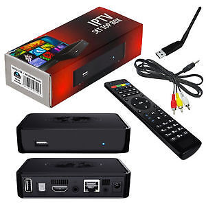 MAG 254 IPTV BOX WITH WIFI AND 3 MONTHS FREEE