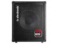 Tc electronic BG250-112 Bass Guitar Combo Boxed Receipt One Month Old
