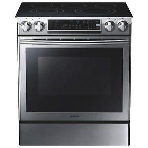 Cuisinière 5,8 pi³ Stainless * NEUF * Samsung ( NE58F9500SS )