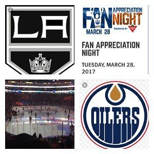 BELOW FAVE VALUE! FAN APPRECIATION NIGHT, Mar 28 vs LA Kings