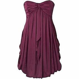 Coast Leonora purple bubble dress