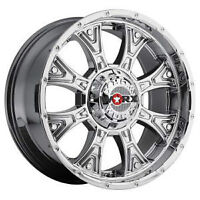 4 NEW WORX ALLOY TYRANT PVD RIMS 20X9 FIT NEW STYLE FORD, GMC