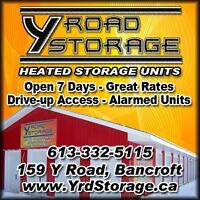 Heated storage Units