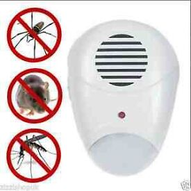 Electric Anti Insect Ultrasonic Pest Repeller Plug In Mice Mouse Rat Rodent New