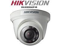 2 x Unused Boxed Pro Hikvision Indoor Camera's Analog Wide D1 True Day Night Discrete