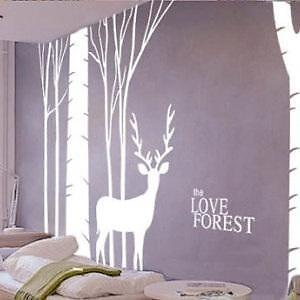 Birch Forest Wall Decal NEW
