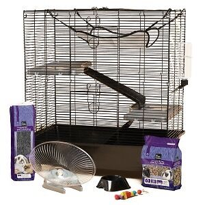 Cage suitable for rats