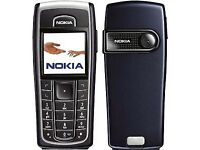 WHAT A BARGAIN = UNLOCKED BLACK NOKIA 6230 MOBILE PHONE IN VERY GOOD CONDITION + CHARGER