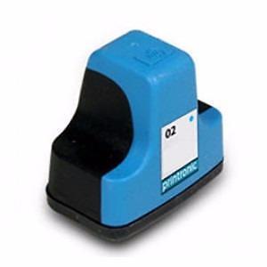 Hp 02 (C8771WN) Ink Cartridge Cyan Remanufactured