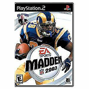 EA Sports games for PS2