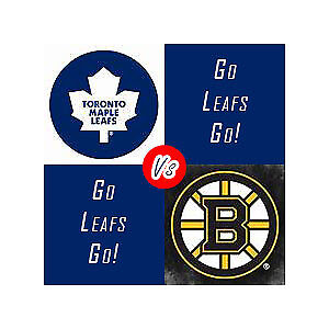 Leafs vs Bruins Mon Apr 23 7pm at the ACC