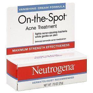 Neutrogena on The Spot: Facial Skin Care   eBay