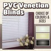 Black Venetian Blinds