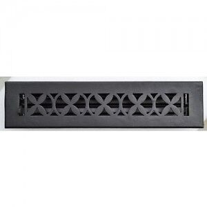 SOLID CAST IRON REGISTER AND GRILLS/GRATES