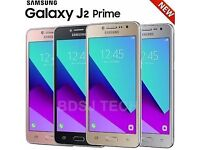 SAMSUNG GALAXY J2 PRIME UNLOCKED BRAND NEW BOXED COMES WITH WARRANTY & RECEIPT